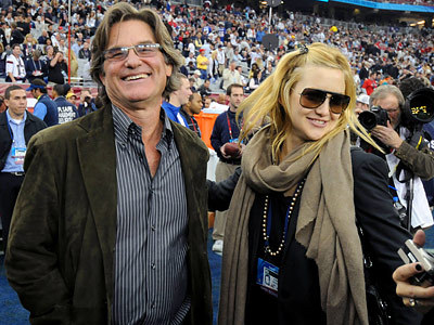 Kurt Russell is Kate's biological father