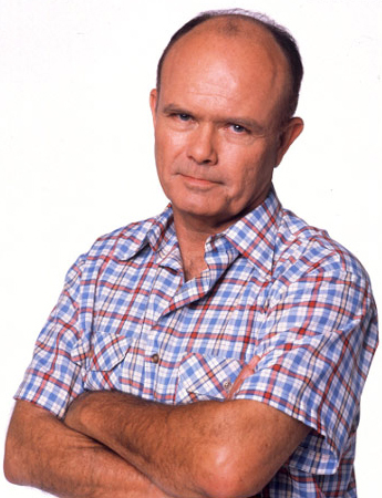 What's Red Forman's real name?