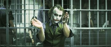 Why is the Joker applauding?