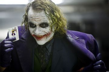 "What was The Joker`s ""magic trick""?"