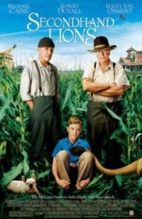 "What character does Michael Caine play in ""Secondhand Lions""?"