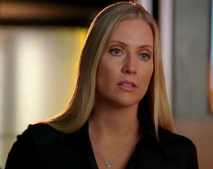 What's the name of the Special Agent that once had an obvious infatuation with Calleigh?