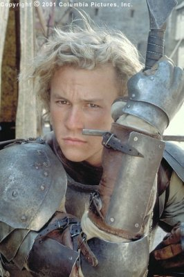"""What character does Heath Ledger play in """"A Knight's Tale""""?"""