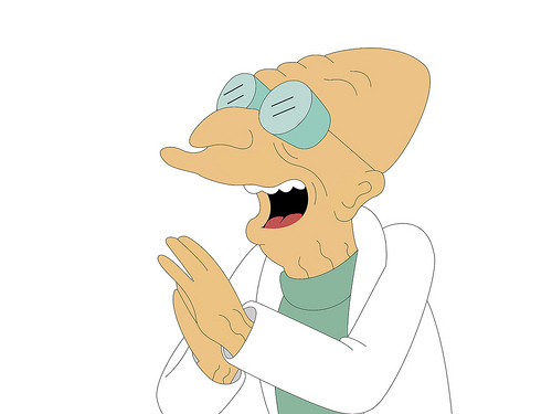Which is NOT one of the names of Professor Farnsworth's atomic supermen?
