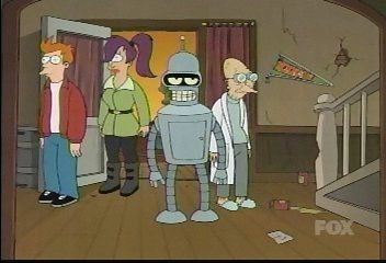 What is the name of Bender's old fraternity (also referred to as Robot House)?
