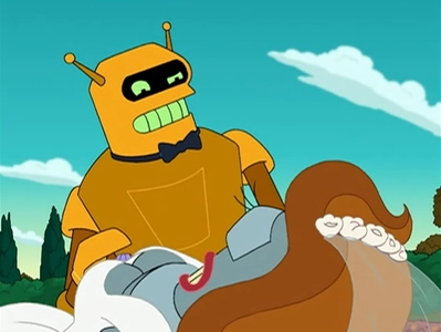 According to Calculon, what real-life actor is actually a robot?