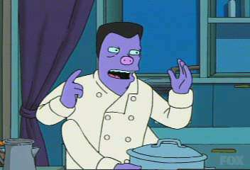 In 'Bender Gets Made,' Elzar is referred to as a master of what kind of cuisine?