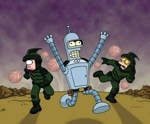 In 'War Is the H-Word,' what is the NOT one of Bender's guesses for the word he almost never says?