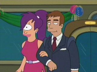 "Where did Leela meet Chaz (aka ""The Mayor's Aide"")?"