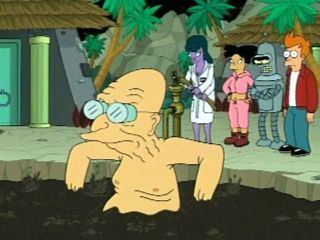 In 'Teenage Mutant Leela's Hurdles,' what is NOT a reason Professor Farnsworth gives for why he likes being old?