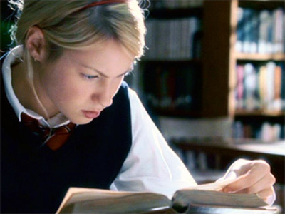 When Sarah decides to research Caleb's family history, which book does she read?
