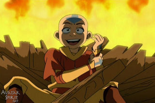Which episode did Aang NOT make an appearance in?