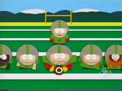 What is the South Park football team's name?
