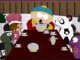 Who is NOT a guest at Cartman's té party?