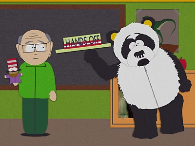 South park sexual harassment panda images