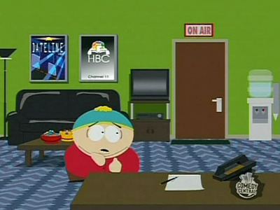 What is NOT one of the embarrassing secrets Cartman lets slip out while he's pretending to have Tourettes?