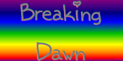 Which band did Stephenie thank at the beginning of Breaking Dawn?