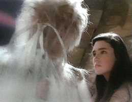 What was the one line that Sarah had to remember and use to defeat Jareth?