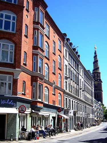 Know your Copenhagen: What is the name of the black church in the background?