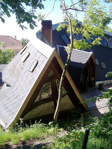 Know your Copenhagen: Where can you find crazy houses like this?