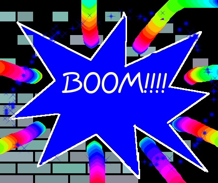 An easy one : Who says BOOM ?