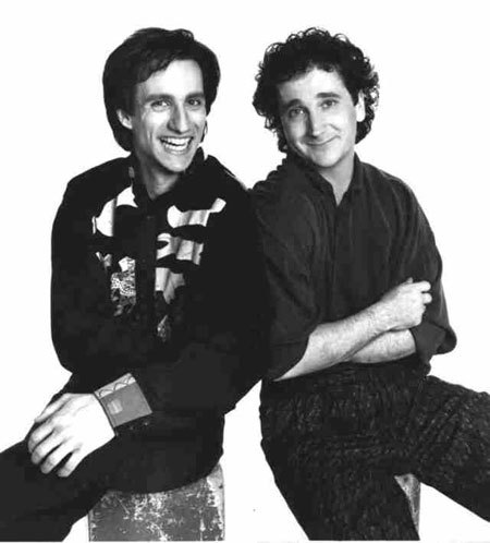True atau False? Larry and Balki are half-brothers