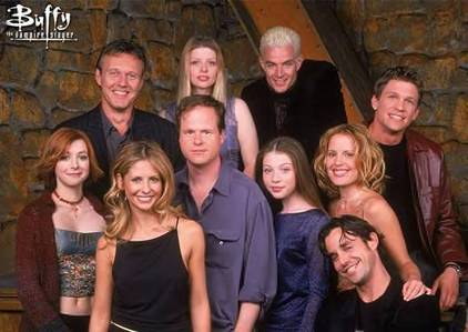 Which Buffy episode had all of these Guest Stars: April Dion, Michael Warren, and Sarah Scivier?