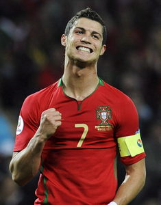 In what year did Cristiano began to play in the national team of Portugal?