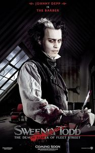 Who was the last person that Sweeney Todd murdered at the end of the film?