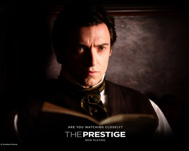"What's the name of the character he portrais in ""The Prestige""?"