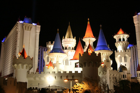 The Excalibur, a 4,000-room colossus, opened June 19, 1990. Which already established Casino was the developer?