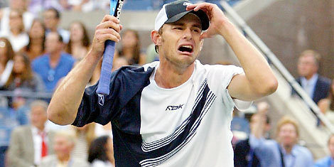 Which Grand Slam did Andy win in 2003?