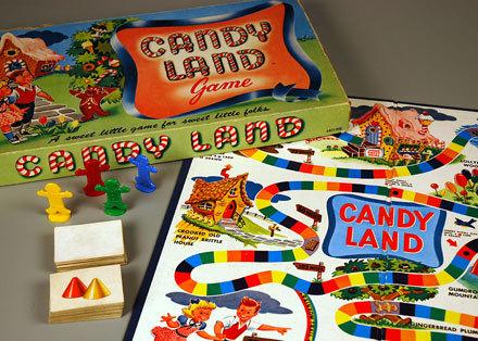 What साल was कैन्डी Land introduced?