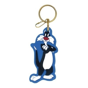 Who is on this keychain?