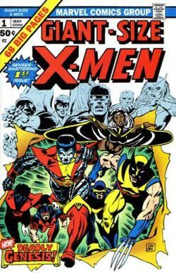 When was the first episode of X-men published?