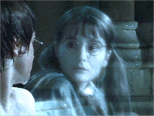 In which house was Moaning Myrtle?