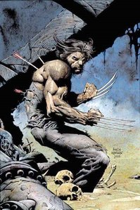 In the comic book, during the Age of Apocalypse, what is different about Wolverine?