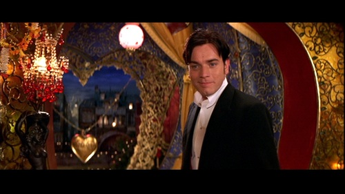 Christian refuses to leave Satine alone with the Duke in her bedroom until she promises what?