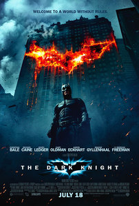 Where is 'The Dark Knight' on the US highest grossing films list?