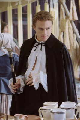 What was the name of Heath's character in Casanova?