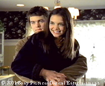 Which episode does Pacey first kiss Joey?
