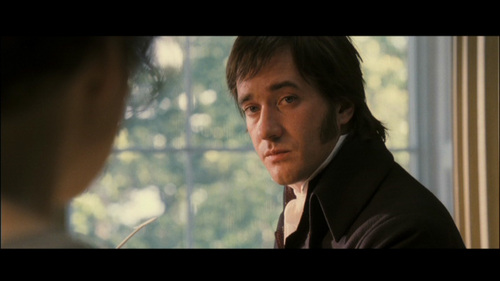 GIVE THE MOVIE (2005) RESPONSE! Mr. Darcy: Are you so severe on your own sex?
