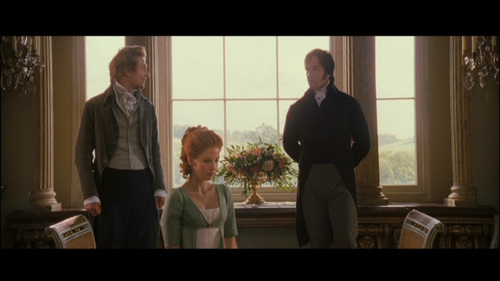 GIVE THE MOVIE (2005) RESPONSE! Mr. Bingley: I find the country