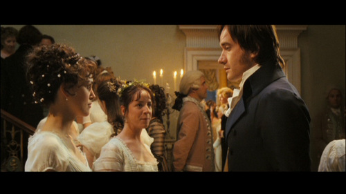 GIVE THE MOVIE (2005) RESPONSE: Mr. Darcy: May I have the next dance, Miss Elizabeth?