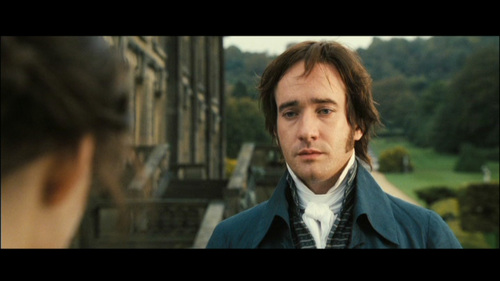 GIVE THE MOVIE (2005) RESPONSE! Mr. Darcy: May I see you back to the village?
