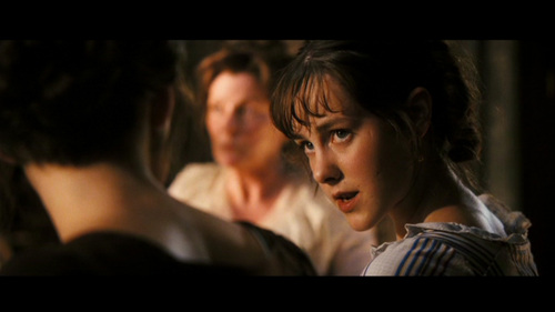 GIVE THE MOVIE (2005) RESPONSE! Lizzie: Mr Darcy was at your wedding?