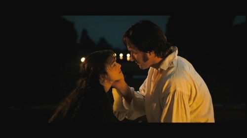 GIVE THE MOVIE (2005) RESPONSE! Mr. Darcy: What endearments am I allowed?