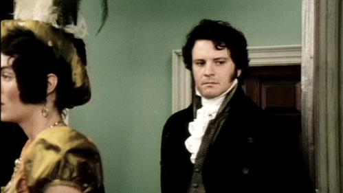 GIVE THE MOVIE (1995) RESPONSE: Mrs. Bennet: Don't you think he's the handsomest man you've ever seen, girls?