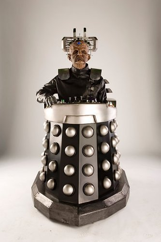 What did Davros fall into, the first año of the Time War?