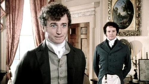 GIVE THE MOVIE (1995) RESPONSE! Mr. Bingley: I'd be happy to live in the country forever. Wouldn't you, Darcy?